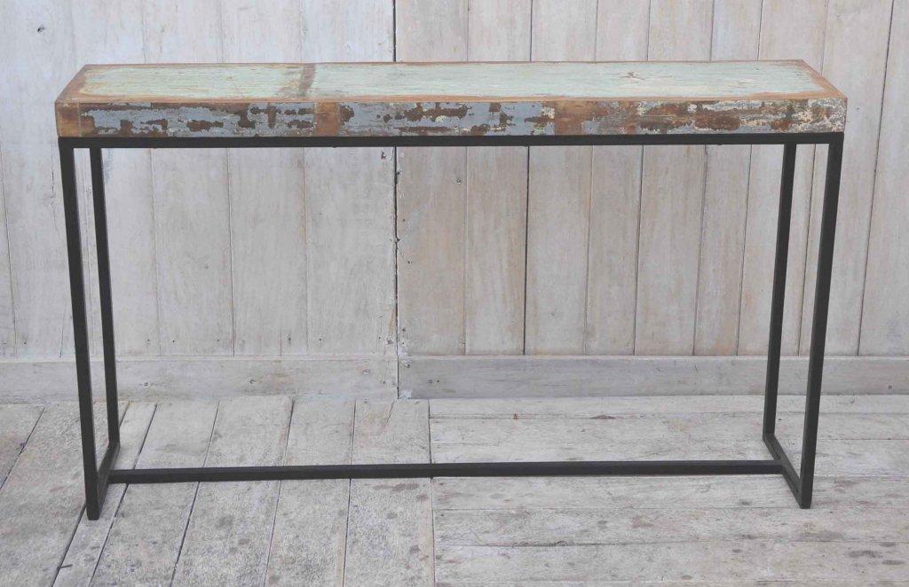 Avlastningsbord avåtervunnet trä Hyllor& Avlastningsbord Förvaring Myhomemyway se